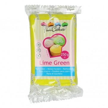 Pasta di Zucchero  Funcakes 250 grammi Lime Green